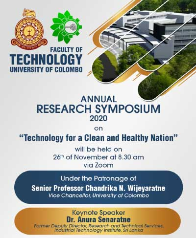 Annual Research Symposium 2021 | Faculty of Technology