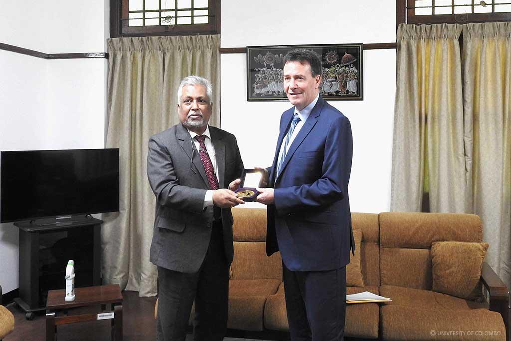 Australian High Commissioner visited University of Colombo