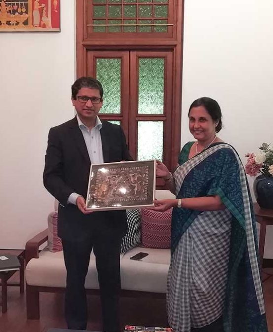 Bangladesh High Commissioner visits University of Colombo