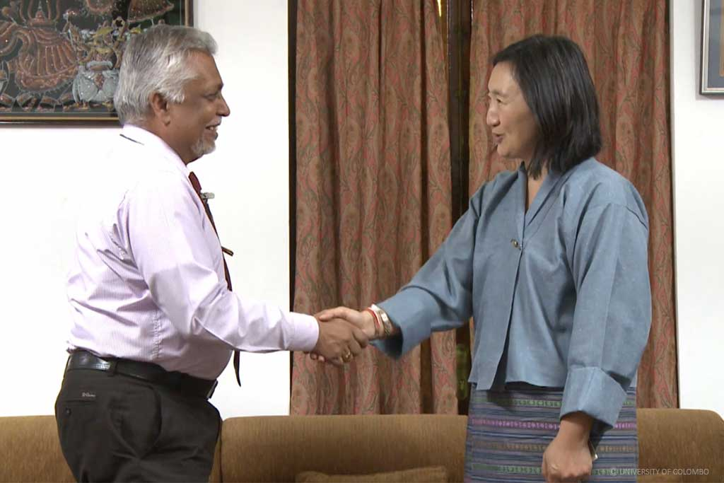Bhutan Ambassador visited University of Colombo