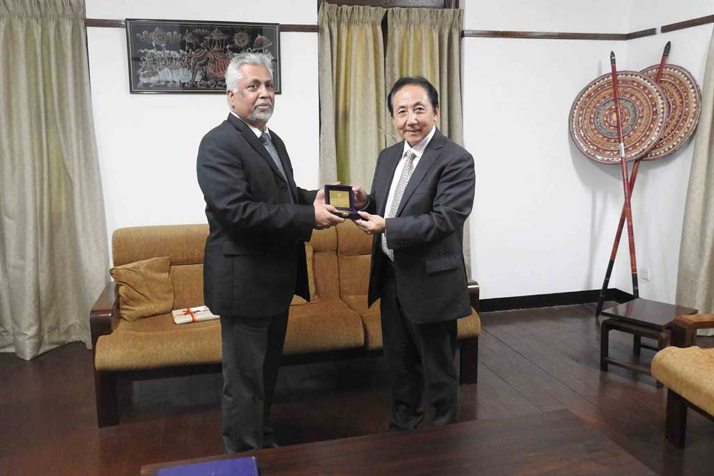 Bhutan Ambassador visited University of Colombo