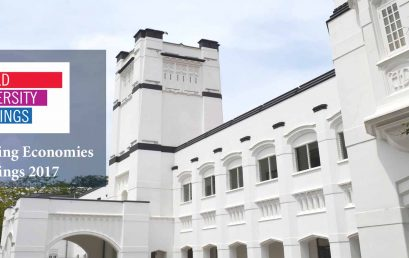 University of Colombo achieves top ranking, BRICS & Emerging Economies 2017
