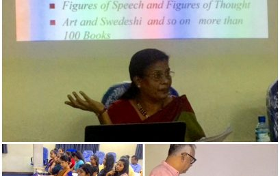 Workshop by Prof. Mallika Rajaratnam for the Students/Staff of the Sri Palee Campus