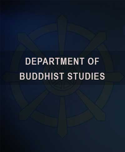 Certificate Course in Introduction to Buddhist Studies