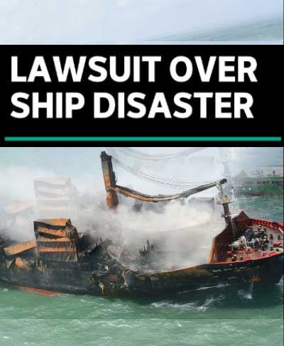 """Sri Lanka's chemical cargo shipwreck could become an """"intergenerational"""" disaster"""