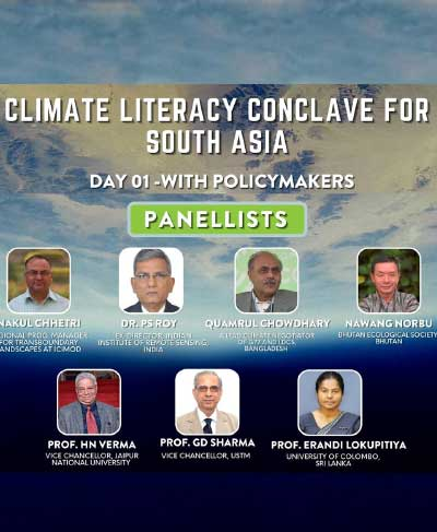 Climate Literacy Conclave for South Asia