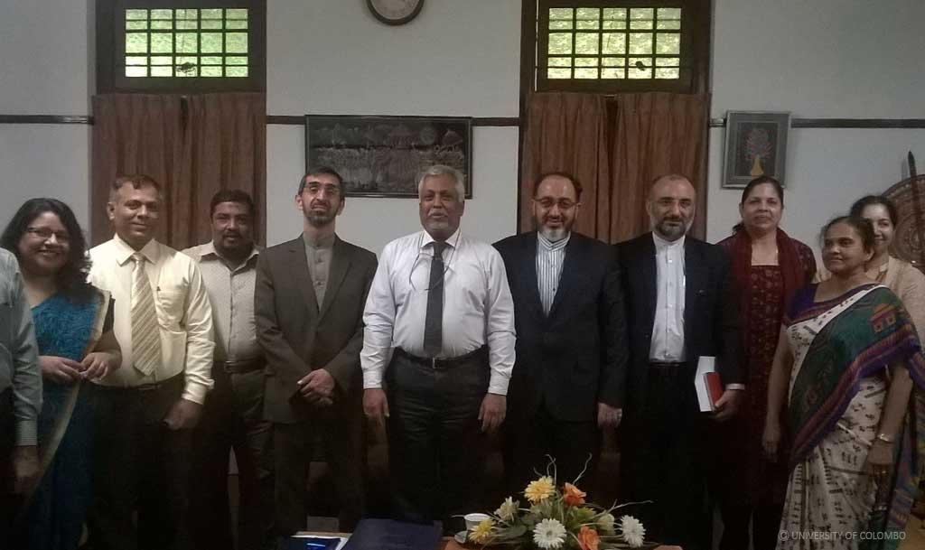 The Cultural Counsellor of Islamic Republic of Iran visited University of Colombo