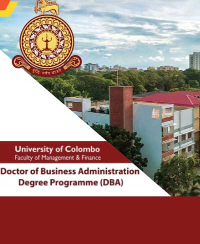 Doctor of Business Administration Degree Programme (DBA) 2021