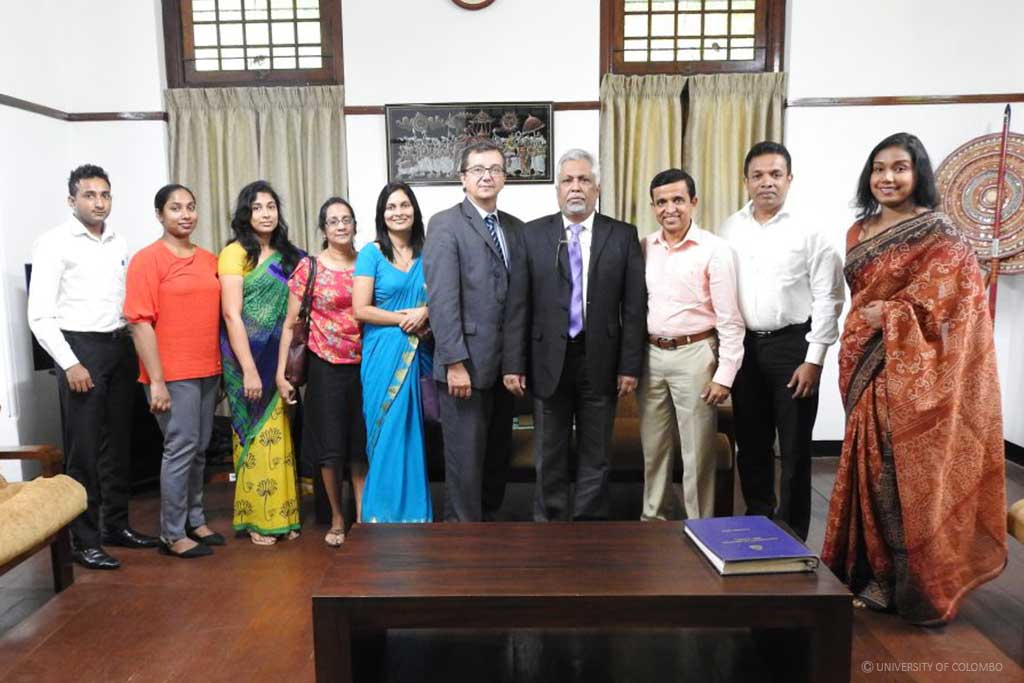 A delegation from Deakin University, Australia visited University of Colombo