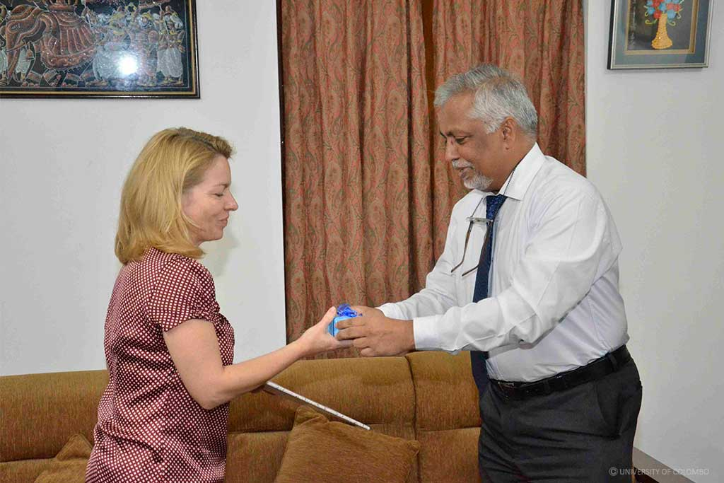 A delegation from German Academic Exchange Service visits University of Colombo