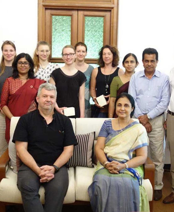 Delegation from Robert Koch Institute visits University of Colombo