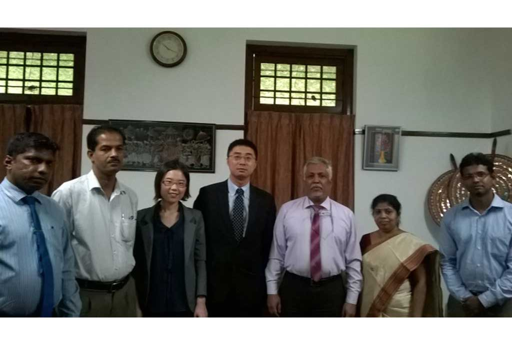 A delegation from Southwestern University of Finance and Economics, China, visited University of Colombo