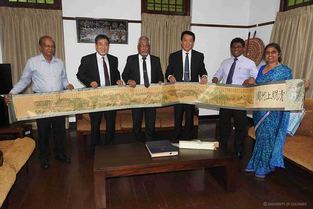 Delegation from Tianjin Medical University visits University of Colombo