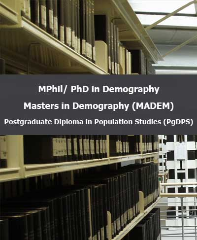 Study Programmes in Demography 2021