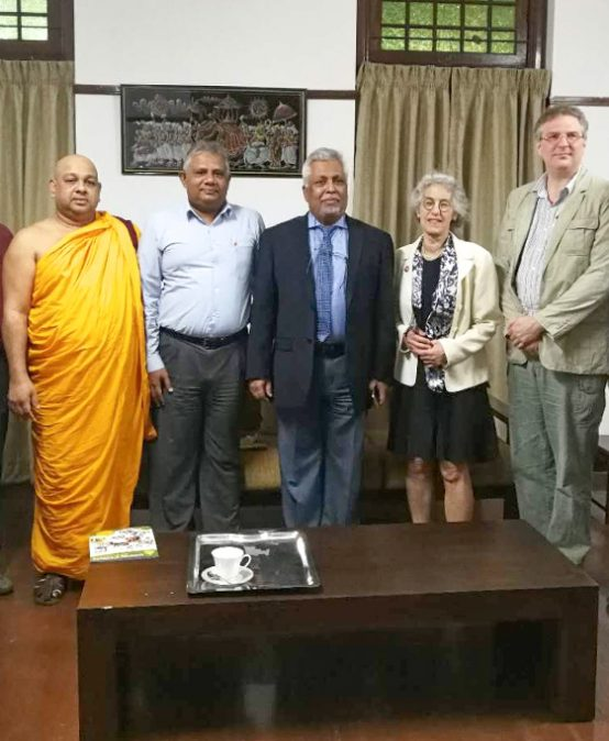 Team of the Divinity School, University of Chicago visited University of Colombo