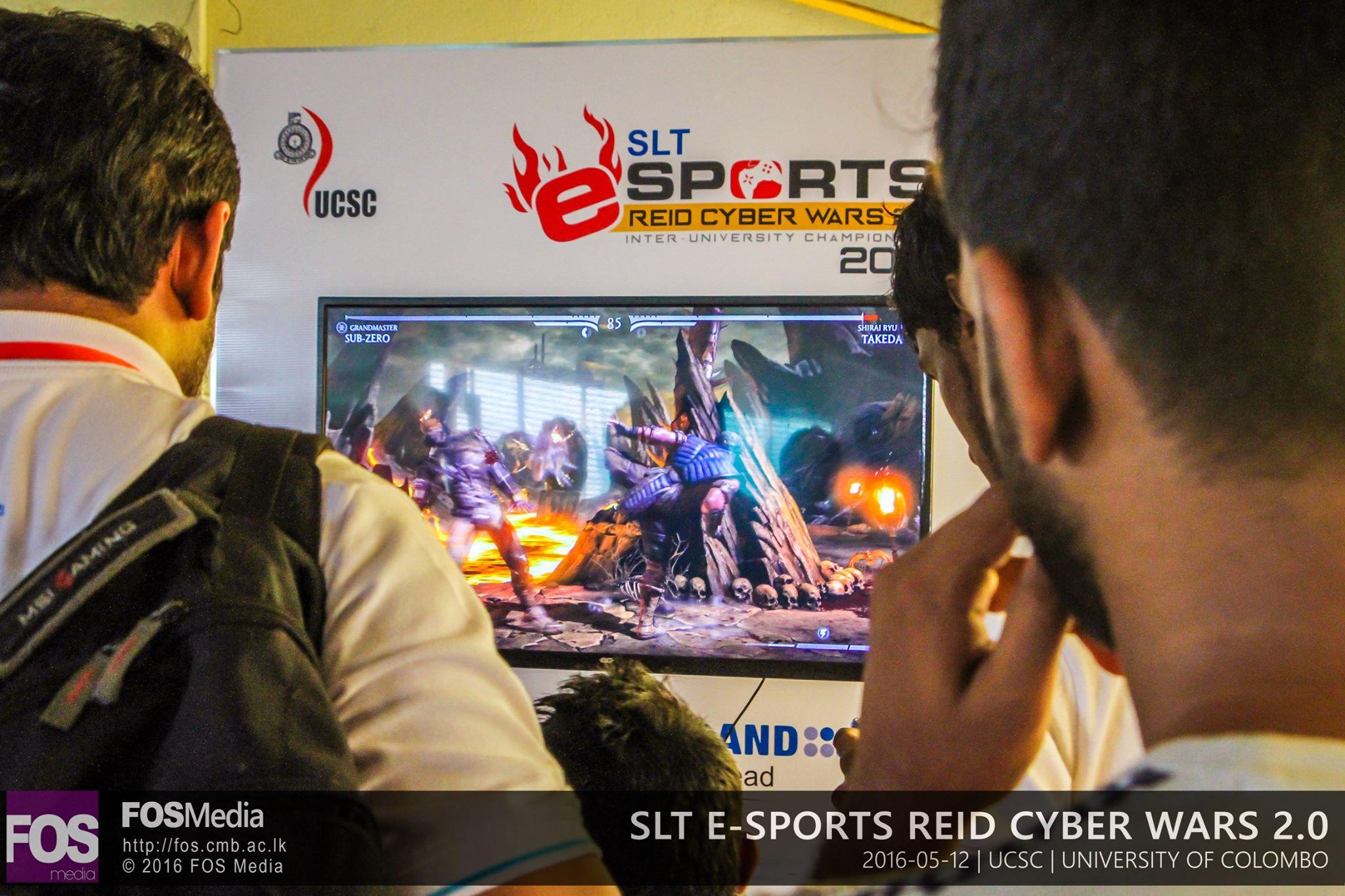 SLT e-Sports Reid Cyber Wars 2.0
