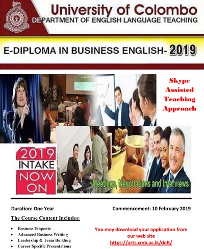 e-Diploma in Business English