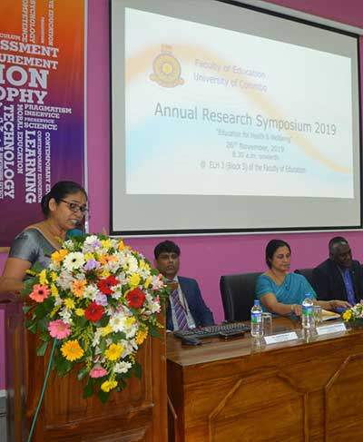 Faculty of Education Research Symposium 2019