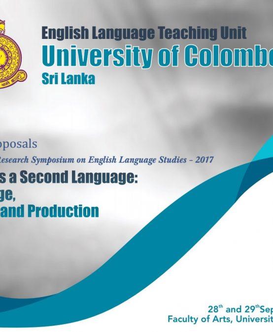 International Research Symposium on English Language Studies