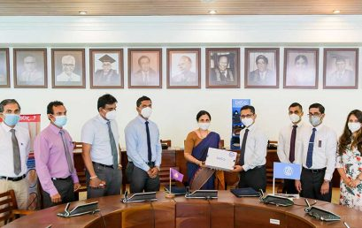 Faculty of Medicine signs MoU with DSI (D. Samson Industries (Pvt) Ltd)