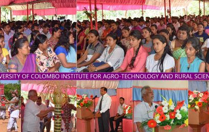 Inauguration Ceremony of the Bachelor of Agro-Technology