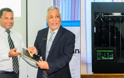 Launch of 'Thrimana Pro' 3D Printer by RCS2 Technologies (Pvt) Ltd