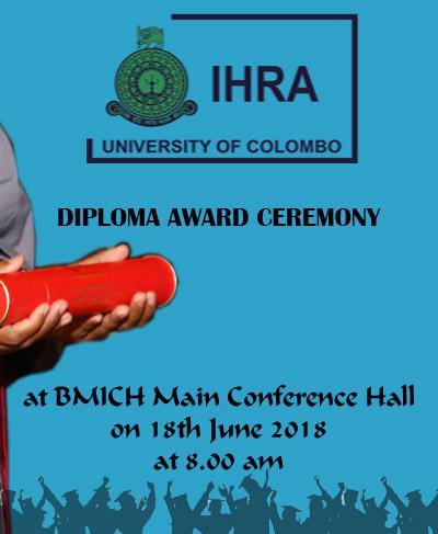 IHRA – Diploma Award Ceremony