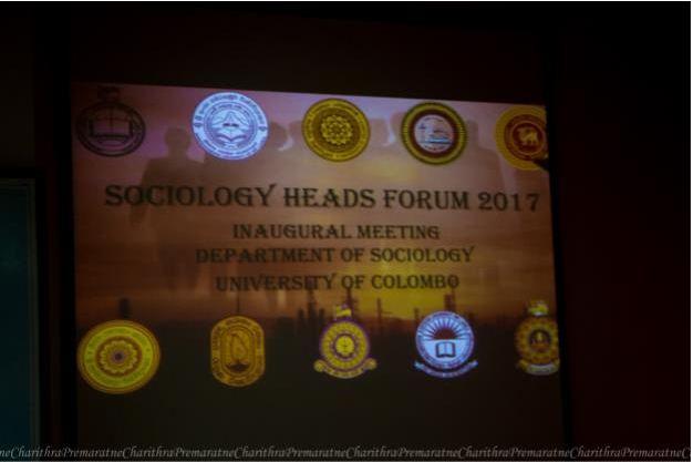 The inaugural Sociology Head's Forum