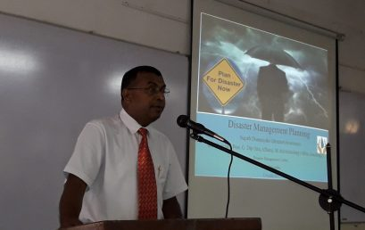 Guest Lecture on 'Natural Hazards'