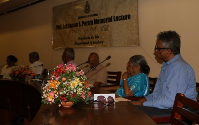 The Professor Lakshman S. Perera Memorial Lecture