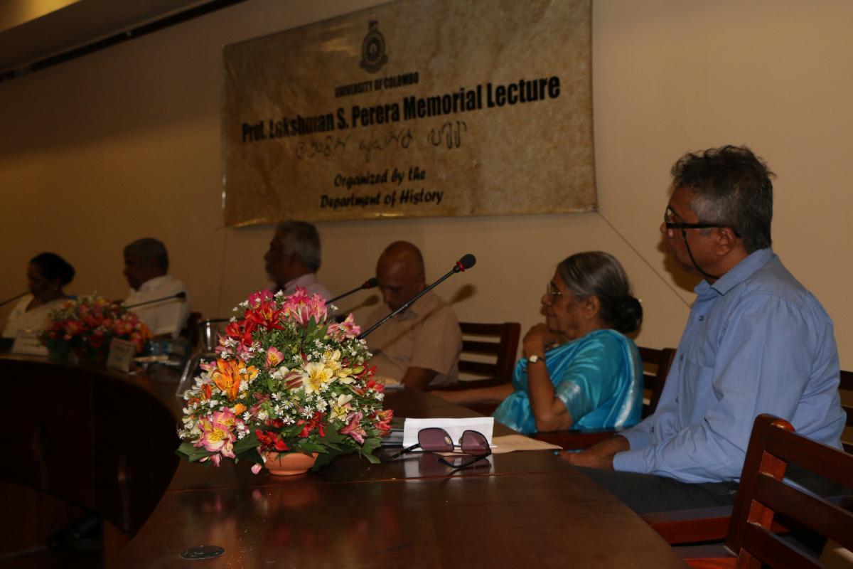 The Professor Lakshman S. Perera Memorial Lecture