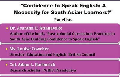 "Human Library 2019 ""Confidence to Speak English: A Necessity for South Asian Learners?"""