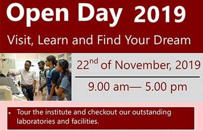 Open Day 2019 – Institute of Biochemistry, Molecular Biology & Biotechnology