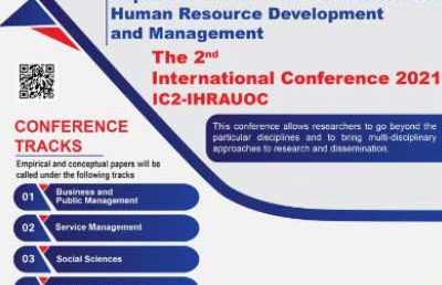 Call for Papers – 2nd International Conference 2021,  IHRA