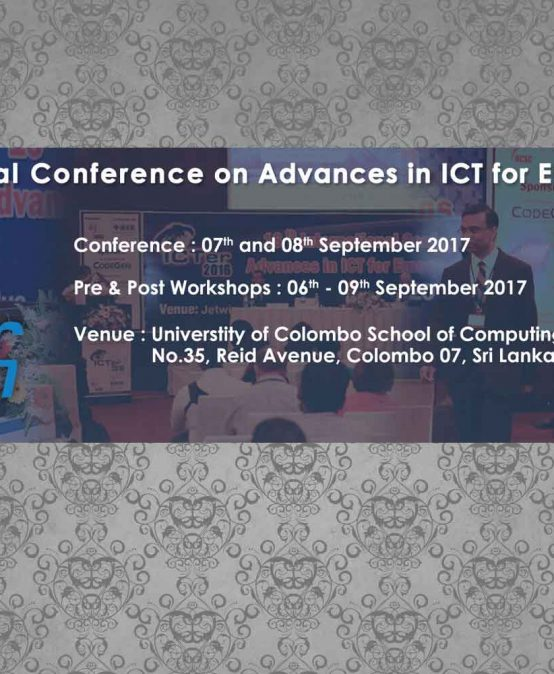 International Conference on Advances in ICT for Emerging Regions