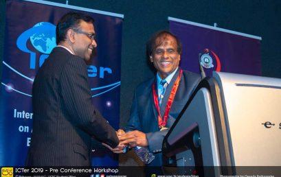 12th Annual Vidya Jyothi Professor V. K. Samaranayake Memorial Oration 2019 and ICTer 2019