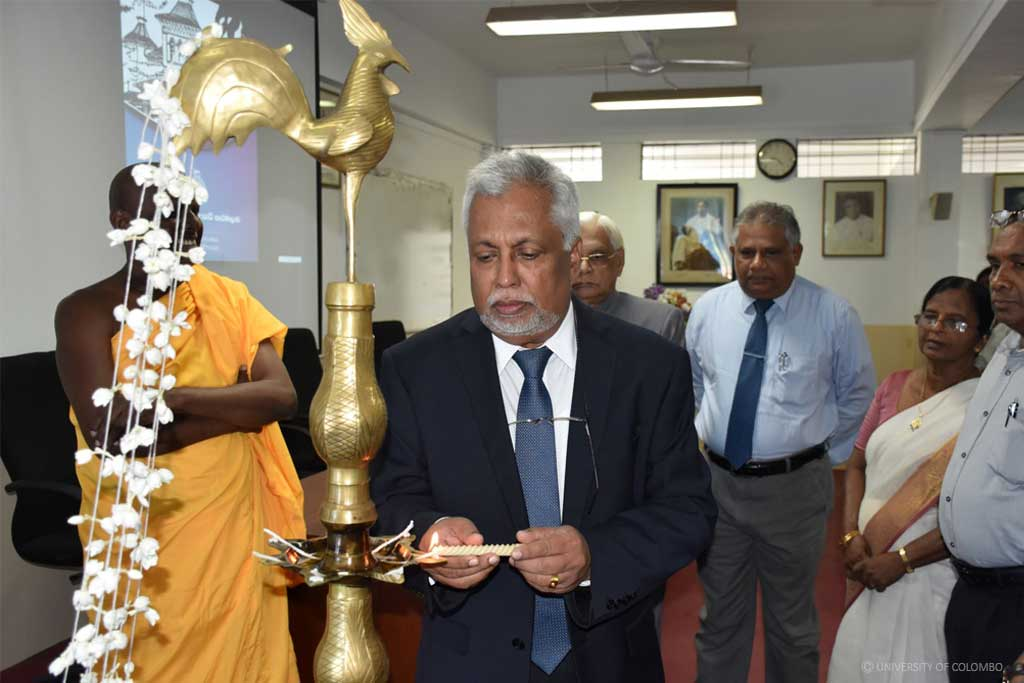 Inauguration Ceremony of Master of Arts in Sinhala