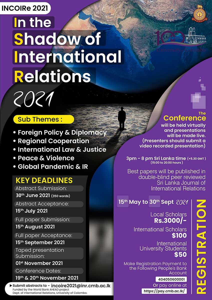 INCOIRe International Conference 2021