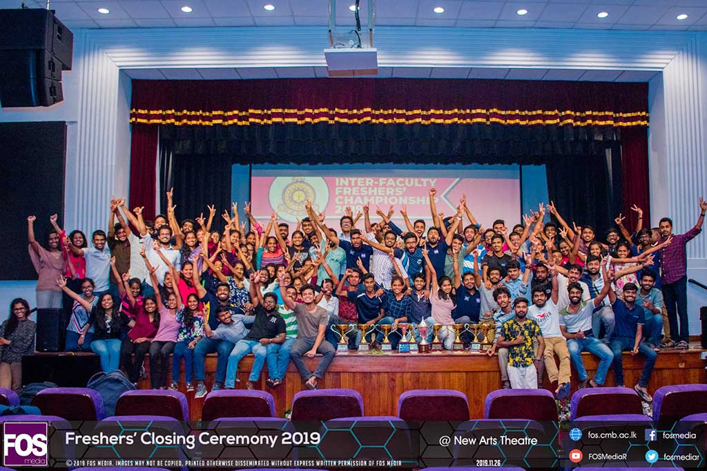 Inter Faculty Freshers' Tournament 2019 – Closing Ceremony
