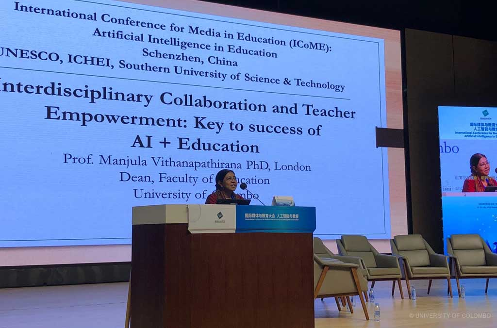 International Conference on AI + Education in Shenzhen, China
