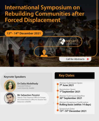 International Symposium on Rebuilding Communities after Forced Displacement
