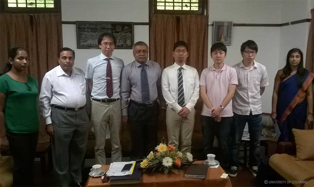 Kyushu University of Japan to collaborate with University of Colombo