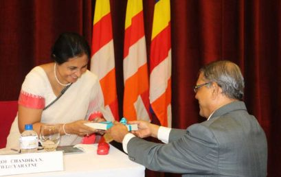 Launching Ceremony of the Collected Papers of Emeritus Professor Asanga Tilakaratne