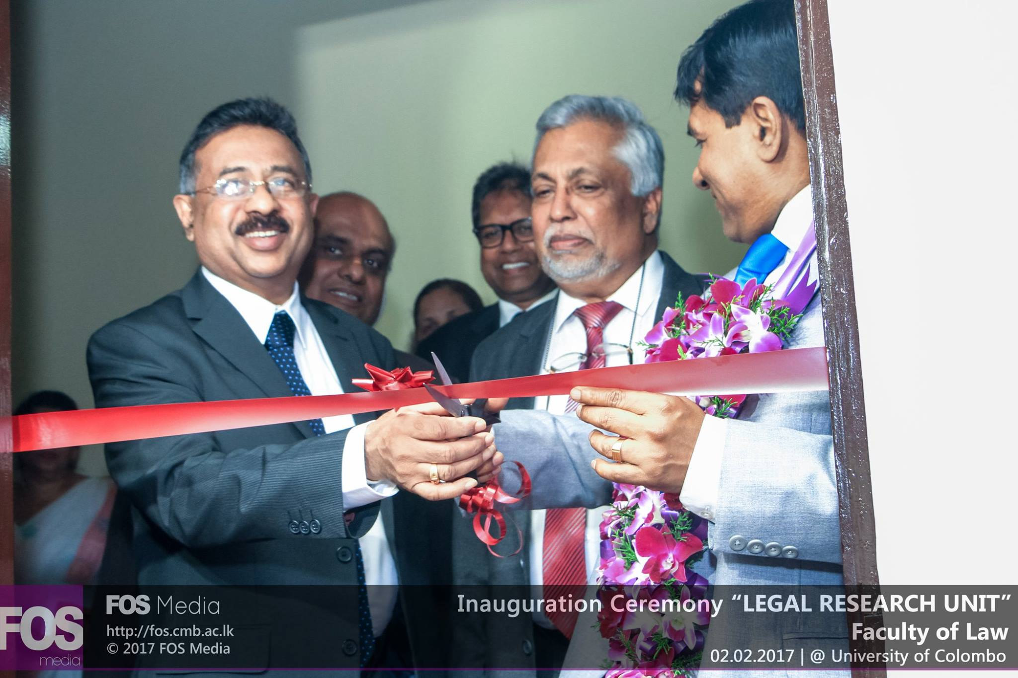Inauguration Ceremony of Legal Research Unit