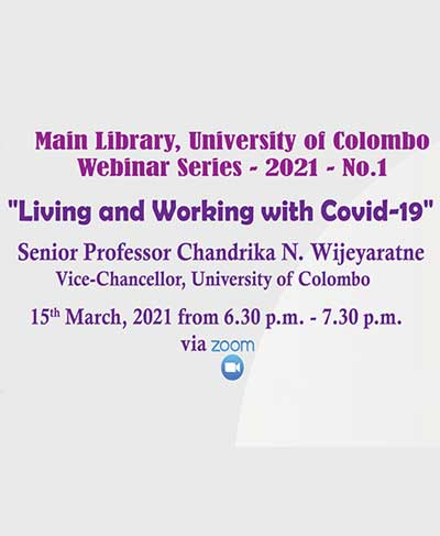 Living and Working with Covid-19 – Webinar Series