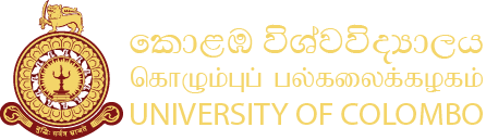 Common Format for Self Financing Activities | University of Colombo, Sri Lanka