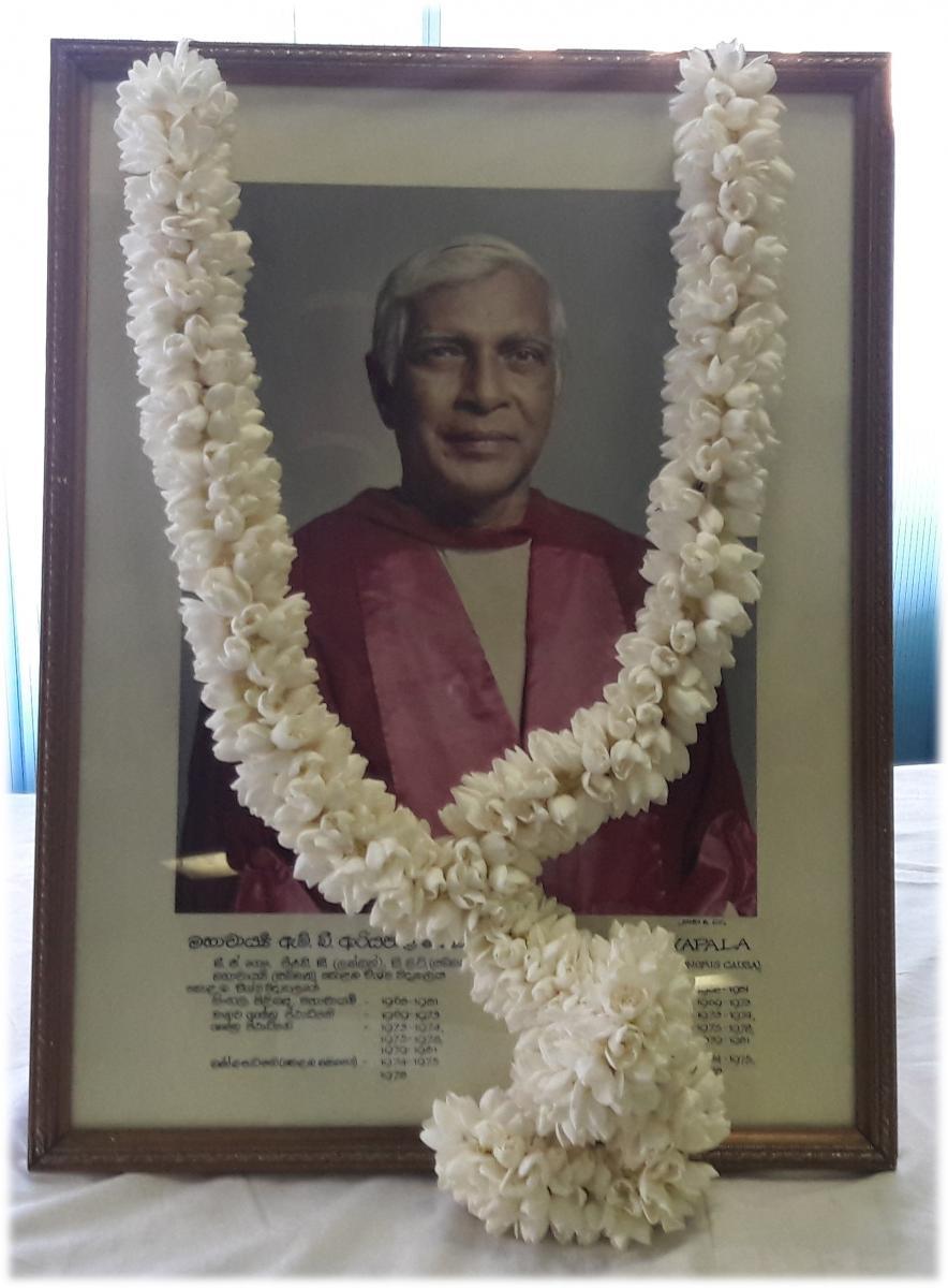 Professer M. B. Ariyapala Commemoration Ceremony