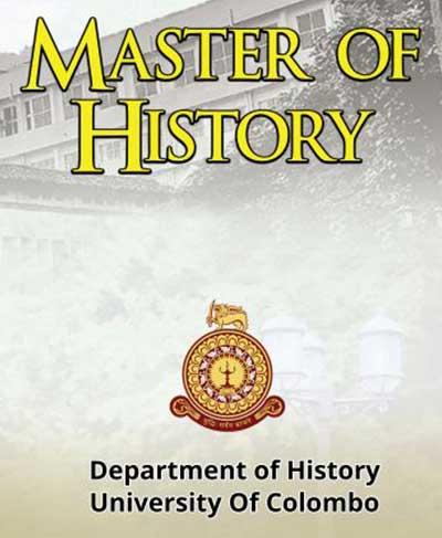 Master of History 2020/ 2021
