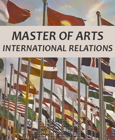 Master of Arts in International Relations 2020/2021 (Blended Mode)