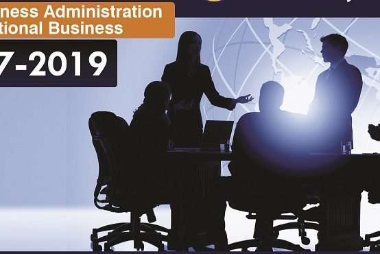 Master of Business Administration in International Business 2017 – 2019